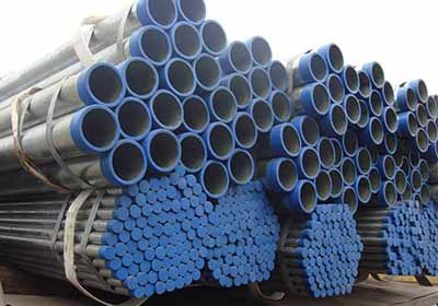 Carbon BS 1387 Galvanized ERW Pipe